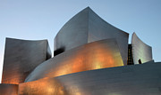 Iconic Design Prints - Walt Disney Concert Hall 19 Print by Bob Christopher