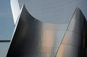 Iconic Design Prints - Walt Disney Concert Hall 23 Print by Bob Christopher