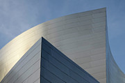 Iconic Design Photo Prints - Walt Disney Concert Hall 3 Print by Bob Christopher