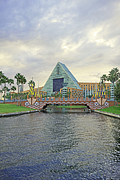 Walt Disney World Framed Prints - Walt Disney World - Dolphin Resort Framed Print by AK Photography
