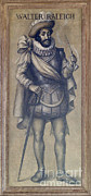 King James Metal Prints - Walter Raleigh, English Explorer Metal Print by Photo Researchers