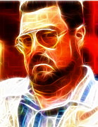John Goodman Prints - Walter Sobchak Print by Paul Van Scott