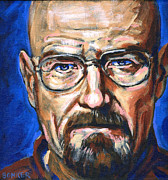 Goatee Prints - Walter White Print by Buffalo Bonker