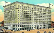 Philadelphia Pa Painting Posters - Wanamakers Department Store In Philadelphia Pa 1910 Poster by Dwight Goss