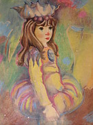 Etc. Pastels Prints - Wandering  Print by HollyWood Creation By linda zanini