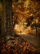 Autumn Landscape Digital Art - Wanderlust  by Jessica Jenney