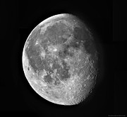 Waning Gibbous Moon Posters - Waning Moon Poster by Robert Gendler
