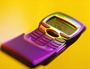 Cellular Photos - Wap Mobile Telephone by Tek Image