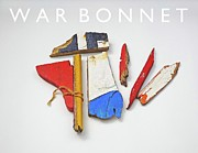 Tomahawk Mixed Media - War Bonnet by Charles Stuart
