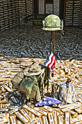 Patriotic Photography Posters - War Dogs Sacrifice Poster by Carolyn Marshall