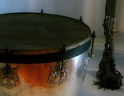 Drum Art - War Drum by Lori Seaman