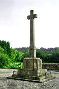 Derbyshire Cross Prints - War Memorial - Duffield Print by Rod Johnson