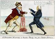 War Of 1812: Cartoon, 1813 Print by Granger