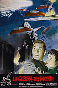 1950s Movies Prints - War Of The Worlds, Left To Right Gene Print by Everett