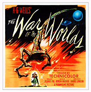War Of The Worlds, Poster Art, 1953 Print by Everett