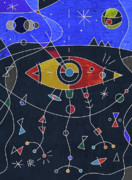 Miro Prints - War of the Worlds Print by Russell Pierce