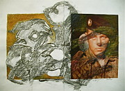 Vet Mixed Media - War Worms And Goblins by Cliff Spohn