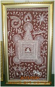 Tribal Art Paintings - Wari Art by AYUSH Adivasi Yuva Shakti