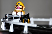 Wario Prints - Wario Cart Print by Don Mann