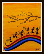 Warli Paintings - Warli by Smita Sumant