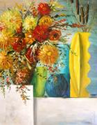 Terra Paintings - Warm Arrangement by John  Williams