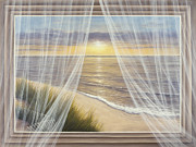 Curtains Originals - Warm Breeze by Diane Romanello
