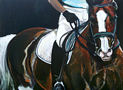 Dressage Horse Originals - Warm Up by Stephanie Come-ryker