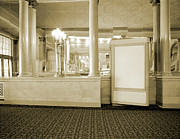 Movies Photo Originals - Warner Theater by Jan Faul