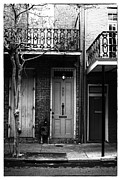 Old School House Photos - Warning Light in the French Quarter by John Rizzuto