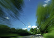 Action Lines Photos - Warp Speed by Karol  Livote