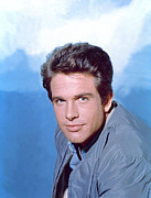 1960s Portraits Framed Prints - Warren Beatty C. 1960s Framed Print by Everett