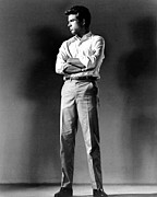 Publicity Shot Photo Posters - Warren Beatty, Publicity Shot For All Poster by Everett
