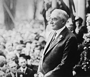 Speaking Photos - Warren G. Harding 1865-1923 Looked Like by Everett