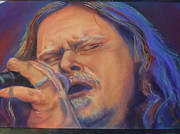Music Portraits Pastels - Warren Haynes by Mark Anthony