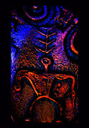 Rock Art Ceramics - Warrior Guardian of Truth by Susanne Still
