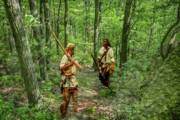 Revolutionary War Digital Art Prints - Warriors Path Print by Randy Steele