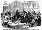 Citizen Framed Prints - Warsaw: Cossack Raid, 1861 Framed Print by Granger