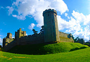 Old England Prints - Warwick Castle of England Print by Stuart Perkins
