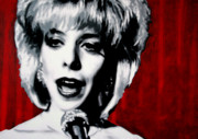 Julee Cruise Framed Prints - Was It Me Was It You Framed Print by Luis Ludzska