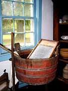 Old Washboards Photos - Washboard by Susan Savad