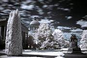 Infrared Originals - Washington Capitol 1 by Julius Reque