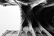 Glass Plate Originals - Washington Cathedral Unfinished Nave by Jan Faul