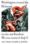 Second World War Prints - Washington Crossed The Delaware To Win Our Freedom Print by War Is Hell Store