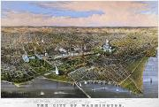 Cities Framed Prints - Washington, D.c., 1880 Framed Print by Granger