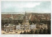 Wario Prints - WASHINGTON, D.C., c1871 Print by Granger