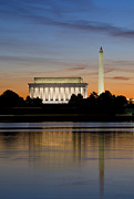 Washington Art - Washington DC from the Potomac River by Brendan Reals
