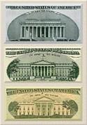 Washington D.c. Landmarks Print by Charles Robinson