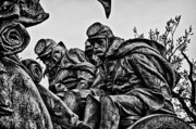 Russian Civil War Prints - Washington DC Monument Detail No 5 Print by Val Black Russian Tourchin