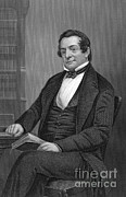 Irving Framed Prints - Washington Irving, American Author Framed Print by Science Source