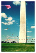D Pyrography Prints - Washington Monument 1982 Print by Karl Preston